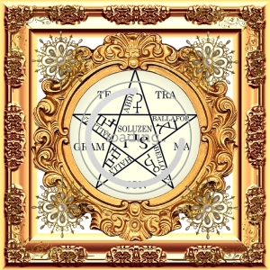 Dieses Symbol wird für Salomos Pentagramm genannt und hat Macht über Geister.