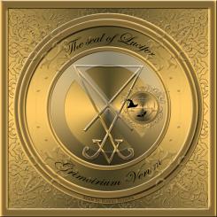 Demonen Lucifer finns beskriven i Grimorium Verum och detta är hans sigill. Häxkonst och magi.