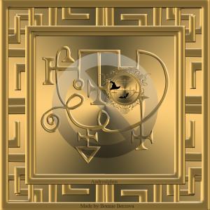 Dämon Andrealphus wird in der Goetia beschrieben und dies ist sein Siegel.