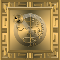The seal of Asmoday
