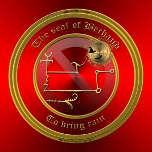 Dies ist das Siegel von Bechaud aus Grimorium Verum.