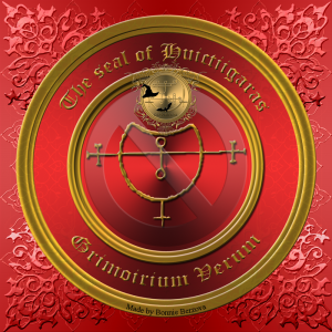 Dies ist das Siegel des Dämons Huictiigaras aus dem Grimorium Verum.