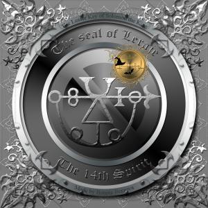Goetia中描述了惡魔Leraje,這是他的印章。