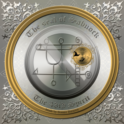 The seal of Sabnock