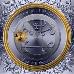 Demonen Valefor finns beskriven i Goetia och detta är hans sigill. Häxkonst och magi.
