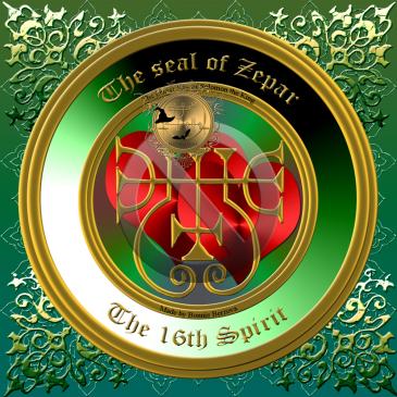 Demonen Zepar är beskriven i Goetia och detta är hans sigill. Häxkonst och magi.