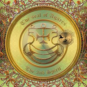 惡魔Agares在Goetia中有描述,這是他的印章。