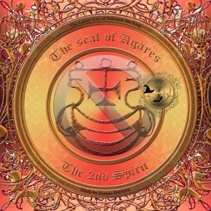 Detta är sigillet av demonen Agares från Goetia. Häxkonst och magi.