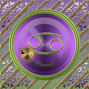 Kräftan är det fjärde Zodiak tecknet och det styrs av elementet av vatten.