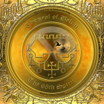 Detta är sigillet av demonen Belial från Goetia. Häxkonst och magi.
