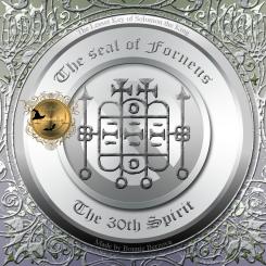 Demonen Forneus finns beskriven i Goetia och detta är hans sigill. Häxkonst och magi.