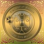 Demonen Furcas finns beskriven i Goetia och detta är hans sigill. Häxkonst och magi.