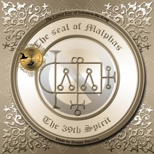惡魔Malphas在《 Goetia》中有描述,這就是他的印記。