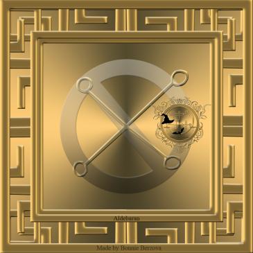 Aldebaran är den kungliga stjärnan av pengar och rikedomar. Detta är sigillet av Aldebaran. Häxkonst och magi.