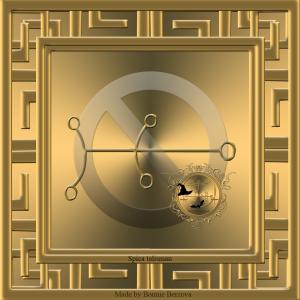 Der Fixstern Spica befindet sich 24 ° Waage. Der Geist von Spica und sein Siegel werden in den Baumbüchern der okkulten Philosophie (H. C Agrippa) erwähnt.
