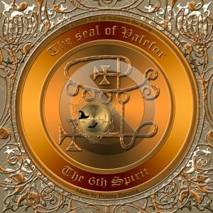 惡魔Valefor在Goetia中有描述,這是他的印章。