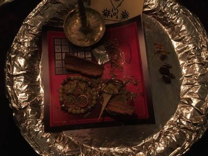 Это ритуал с Люцифером, Барцабелем и Графиелем.
