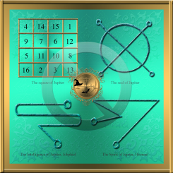 Jupiter planetary talisman