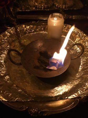 Detta är en ritual med demonen Agares från Goetia.