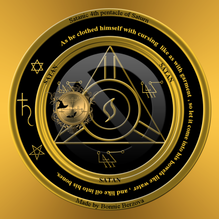 The 4th pentacle of Saturn