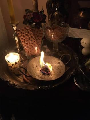Brevet till demonen Eligos bränndes ner till aska.