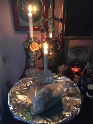 這是來自Goetia的惡魔Focalor的儀式。