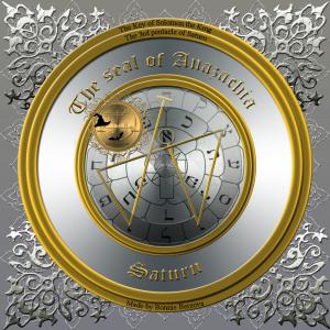 これはソロモンの鍵のAnazachiaの印章です。