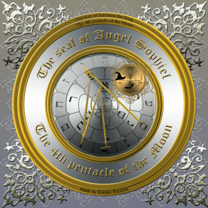 これはClavicula SalomonisのAngel Sophielの印章です。